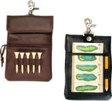 Royce Leather Clip-On Golf Accessory Bag 672-5
