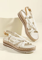 ModCloth You're My Only Rope Sandal in 10