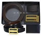 Cross Men's Leather Reversible Belt with an Extra Buckle ( Buckle)