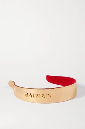 Balmain Paris Hair Couture Gold-plated Headband - one size
