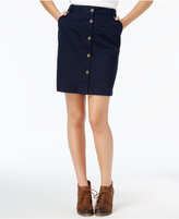 Tommy Hilfiger Jamie Button-Front Skirt, Only at Macy's
