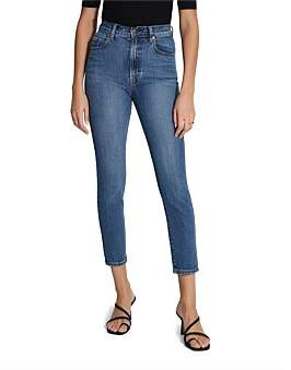 Nobody Denim Frankie Super High Rise Slim Ankle Jean