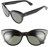 Oliver Peoples Women's Roella 55Mm Polarized Cat Eye Sunglasses - Black