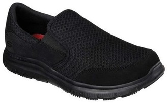Skechers Men's Relaxed Fit Flex Advantage McAllen Slip Resistant Shoe