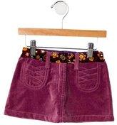 Dolce & Gabbana Girls' Velveteen Skirt