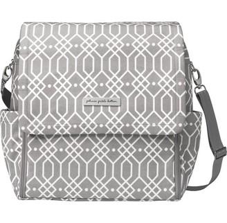 Petunia Pickle Bottom Boxy Backpack Diaper Bag, Quartz