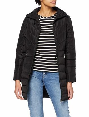 Dorothy Perkins Women's Black Sustainable Long Padded Jacket 10