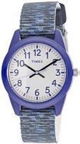 Timex Boy's TW7C12000 Cloth Quartz Fashion Watch