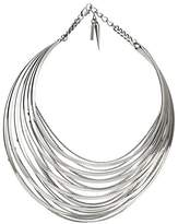 Jenny Bird Women's Sterling Silver Plated Illa Collar of Length 15.5cm