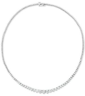 """Macy's Diamond Fancy 17"""" Collar Necklace (15 ct. t.w.) in 14k Gold"""