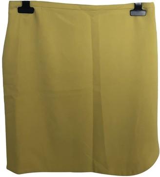 BA&SH Bash Yellow Polyester Skirts