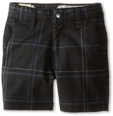 Volcom Frickin Plaid Stretch Short (Toddler/Little Kids)