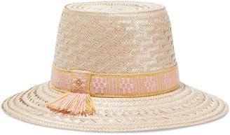 Yosuzi Luz Woven Straw Hat