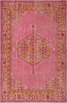 The Well Appointed House Surya Zahra Rug in Pink, Coral, Saffron, Terracotta and Purple-Available in a Variety of Sizes