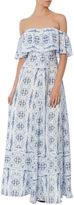 Amanda Uprichard Delilah Printed Maxi Dress