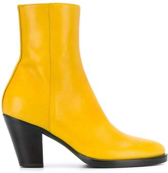A.F.Vandevorst round toe ankle boots
