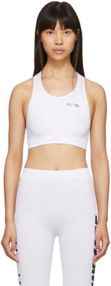 Unravel White Tech Seamless Bra