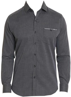 Robert Graham Kareen Micro Dobby Button-Down Shirt