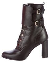 Valentino Lace-Up Ankle Boots