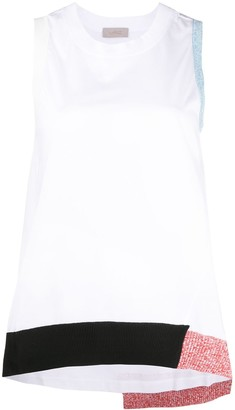 Mrz Contrast-Trimmed Tank Top