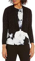 Calvin Klein Rhinestone-Studded Cropped Shrug