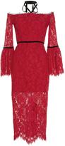 Alexis Odette Halter Lace Dress