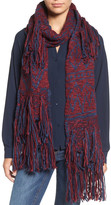 BCBGeneration Mixed Fringe Scarf
