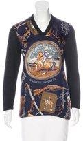 Hermes Cavalerie Française Print Sweater