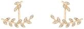 Accessorize Crystal Leaf Ear Jacket