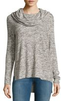 Saks Fifth Avenue High-Low Cowlneck Pullover