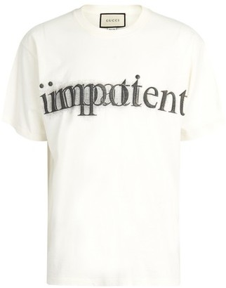 Gucci Impotent / Impatient t-shirt