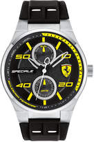 Ferrari Men's Speciale Black Silicone Strap Watch 44mm 0830355