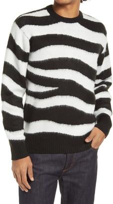 Obey Dream Zebra Crewneck Sweater