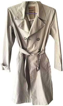 Prada Beige Cotton Trench Coat for Women Vintage