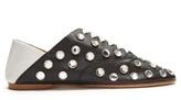 Acne Studios Mika rhinestone-embellished slipper shoes