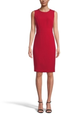 Kasper Petite Sleeveless Sheath Dress