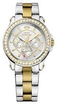 Juicy Couture Ladies Pedigree Two Tone and Crystal Watch