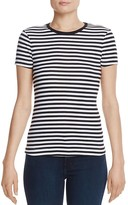 Three Dots Kennedy Stripe Tee