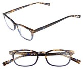Eyebobs Men's On Board 47Mm Reading Glasses - Blue Tortoise