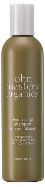 John Masters Organics Zinc & Sage Shampoo With Conditioner 236ml
