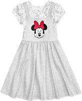 Disney Disney's® Embroidered Minnie Mouse Jumper Dress, Toddler & Little Girls (2T-6X)