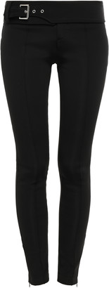 Versace Belted Scuba Skinny Pants