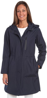 Fleet Street Women's Fleetstreet Long Anorak Raincoat