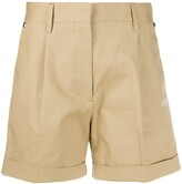 Off-White Off White high waisted cotton shorts