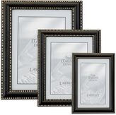Lawrence Frames Brushed Bronze Picture Frame with Delicate Beading