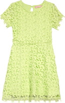 BCBGMAXAZRIA Girls Scallop Lace Dress