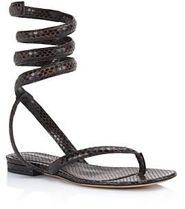 Bottega Veneta Women's Ankle Wrap Sandals