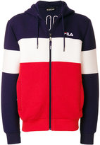 Fila colourblock zipped hoodie