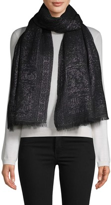 Badgley Mischka Paisley Palace Metallic Scarf