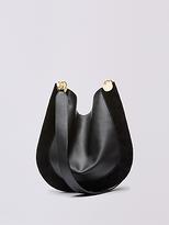 Diane von Furstenberg Leather and Suede Crossbody Satchel